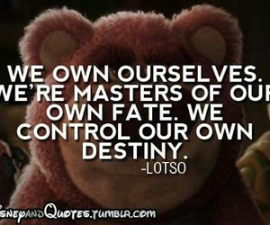 quote, disney, and lotso image