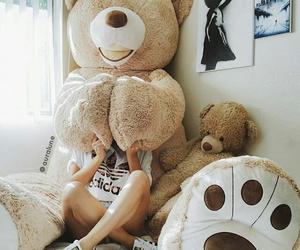 adidas, bear, and teddy bear image