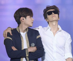donghae, kpop, and ryeowook image