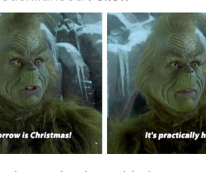 christmas, grinch, and people image