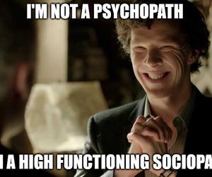 holmes, Psycho, and sherlock image