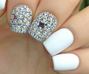 christmas, panda, and nails image