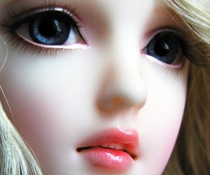 doll, bjd, and eyes image