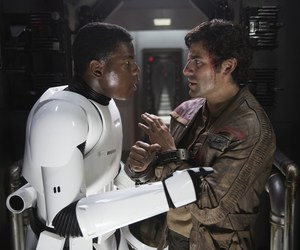 star wars, finn, and the force awakens image