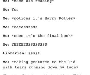 deathly hallows, funny, and harry potter image