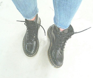 black, boots, and doctor image