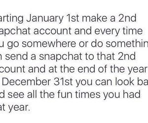 snapchat, fun, and january image