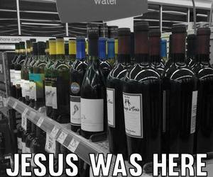 funny, here, and jesus image