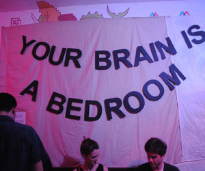 grunge, aesthetic, and brain image