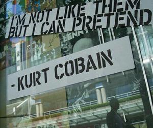 kurt cobain, nirvana, and quotes image