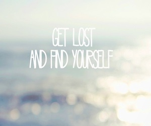 lost, quote, and love image