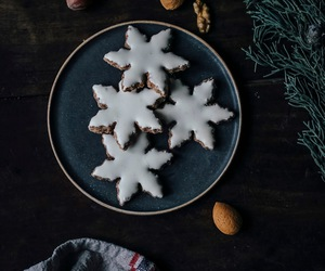 Cookies, quotes, and snowflakes image