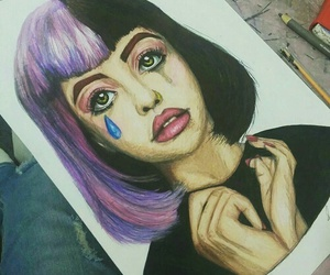melanie martinez, art, and drawing image