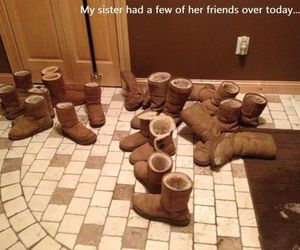 funny and uggs image