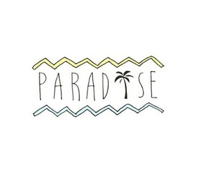 paradise, overlay, and cute image