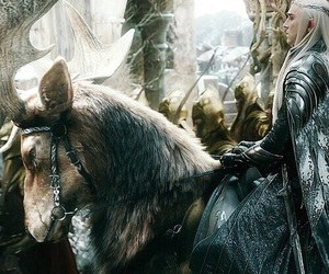 the hobbit, lord of the rings, and thranduil image