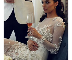 classy, dress, and girl image