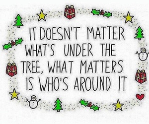 quote, christmas, and family image