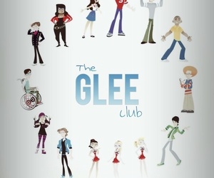 glee, wallpaper, and gleeclub image