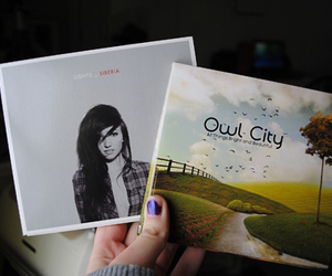 lights, albums, and Owl City image