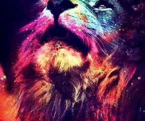 art, wallpaper, and lion image