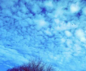 clouds, winter, and sky image
