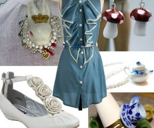alice in wonderland and fashion image