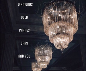 beautiful, diamonds, and quote image