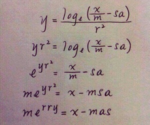 christmas, math, and funny image