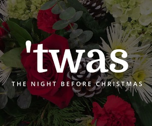 bouquet, christmas, and font image