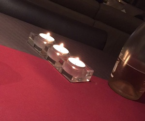 candlelight, candle, and christmaseve image