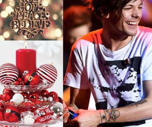 christmas, look, and louis image