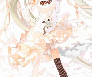 anime, anime girl, and miku hatsune image