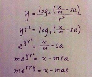 christmas, math, and funny image