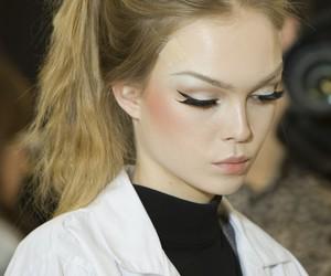 model, hair, and makeup image