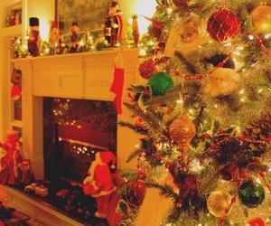 background, christmas, and food image