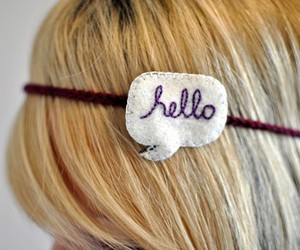 hair and hello image