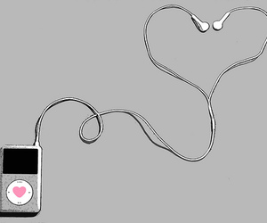2010, apple, and earbuds image