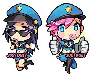 lol, league of legends, and justduet image