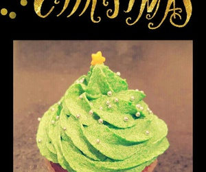 christmas, cupcake, and december image