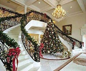 christmas, house, and home image