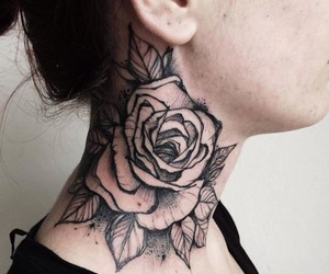 flowers, tatouages, and deadroses image