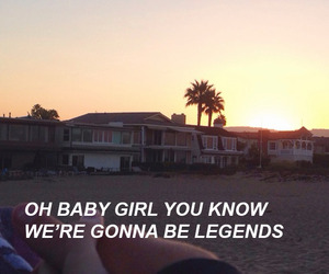 aesthetic, quotes, and halsey image