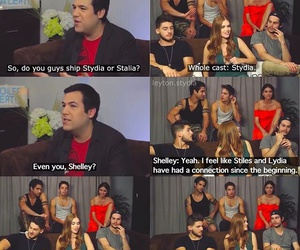 teen wolf cast and stydia image