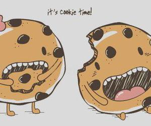 cookie, eat, and life image
