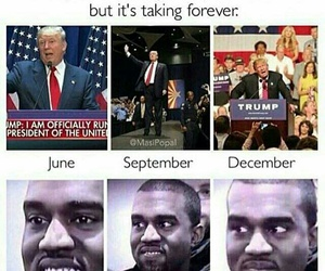 funny, joke, and trump image