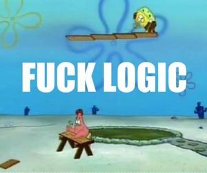 funny, spongebob, and patrick image