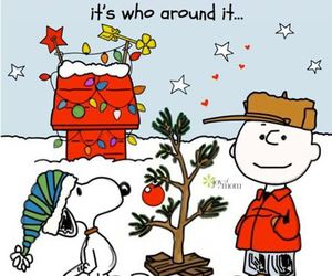 christmas, snoopy, and quotes image