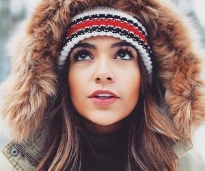 bethany mota, winter, and youtuber image