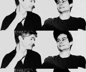 dylan o'brien, thomas, and thomas brodie sangster image